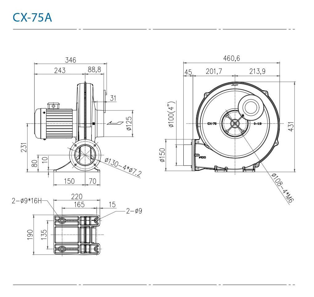 CHUANFAN CX75SA