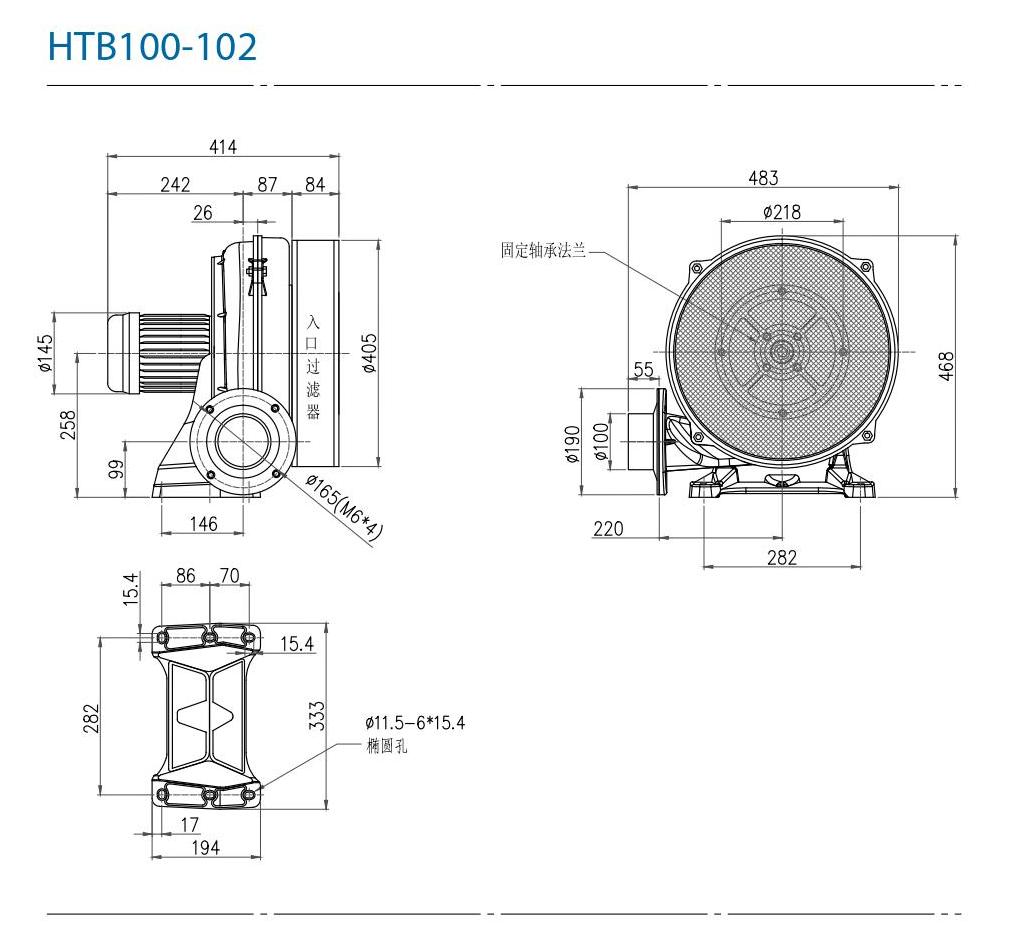 CHUANFAN HTB100-102