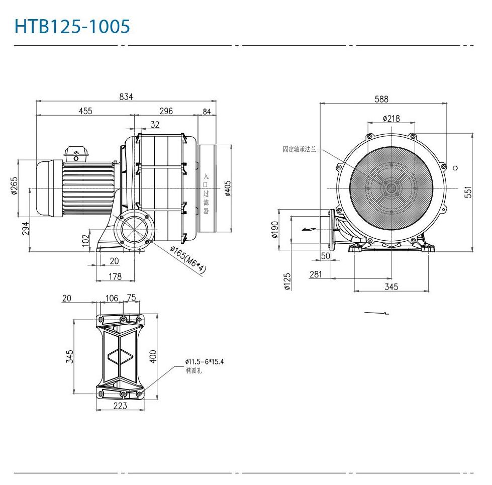 CHUANFAN HTB125-1005