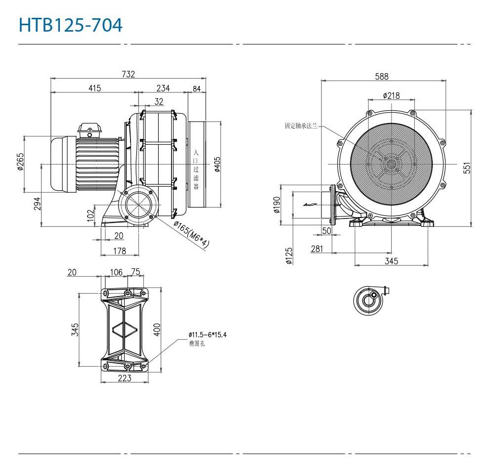 CHUANFAN HTB125-704
