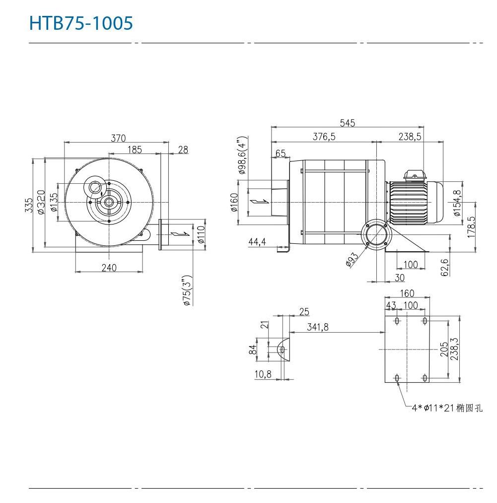 CHUANFAN HTB75-105