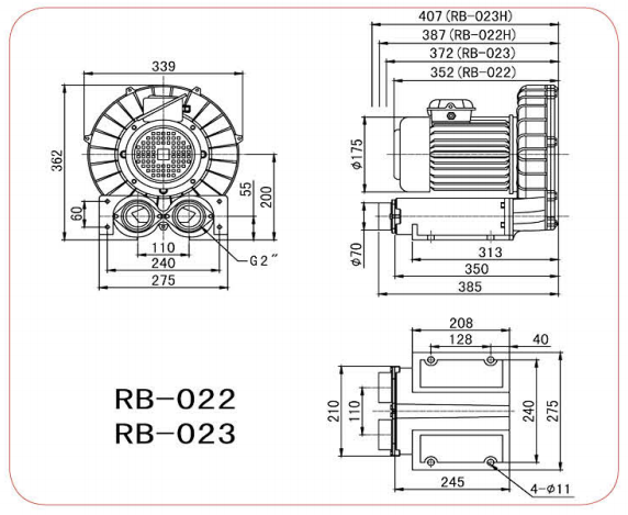 CHUANFAN RB 022S