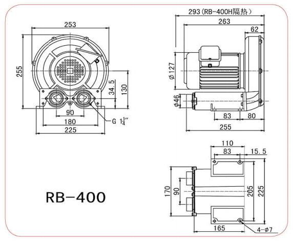 CHUANFAN RB 400S